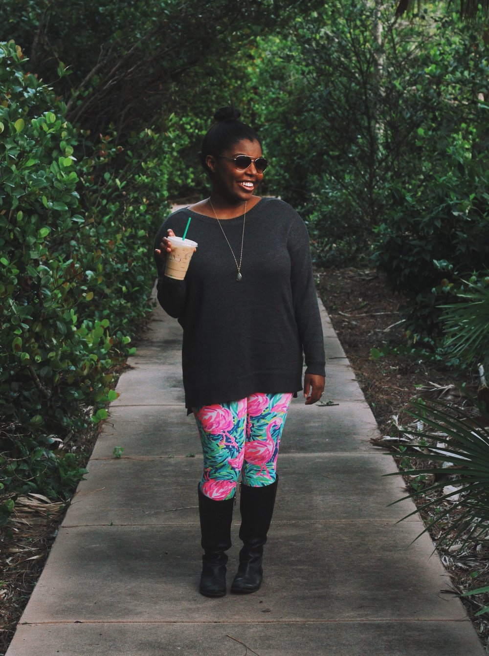2a765f7fc807c I have friends half my size who say these leggings are too tight or  stretched, so I have no idea how I pulled it off. They're like the jeans  from the ...