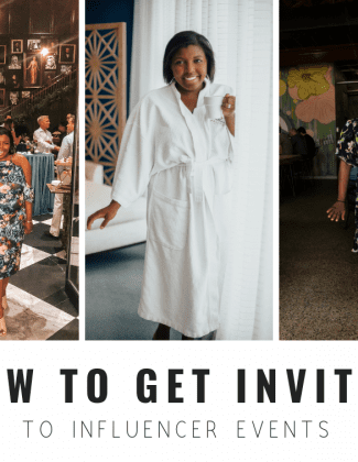 How To Get Invited To Influencer Events
