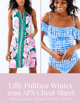 lilly pulitzer winter 2019 after party sale (APS)