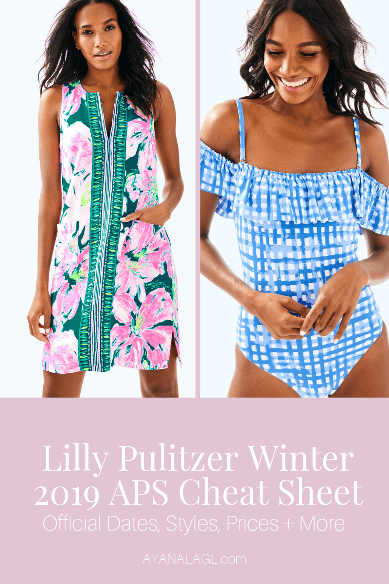 lilly pulitzer winter 2019 afterparty sale
