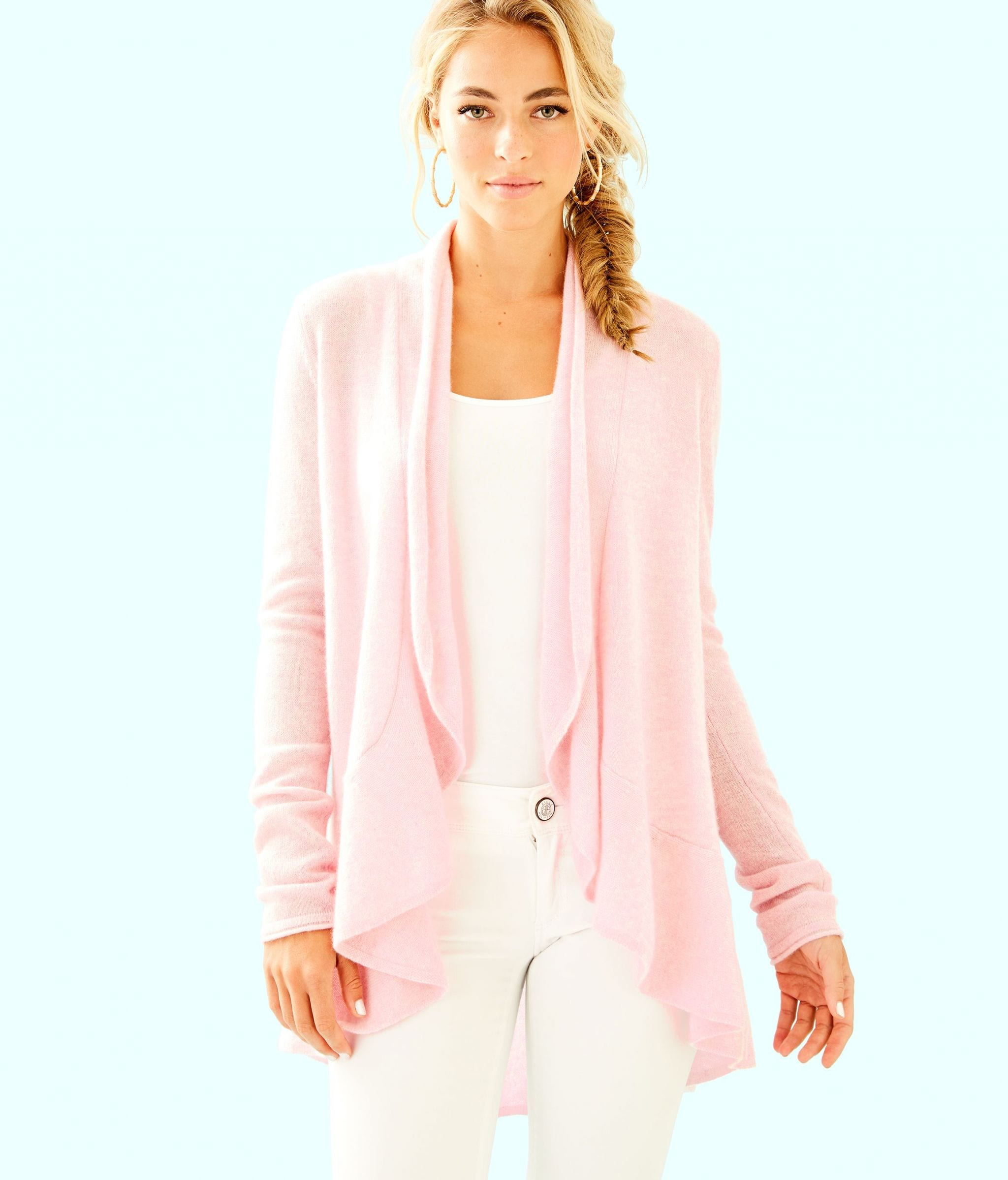 Marette Cashmere Cardigan, Originally $248, APS $99