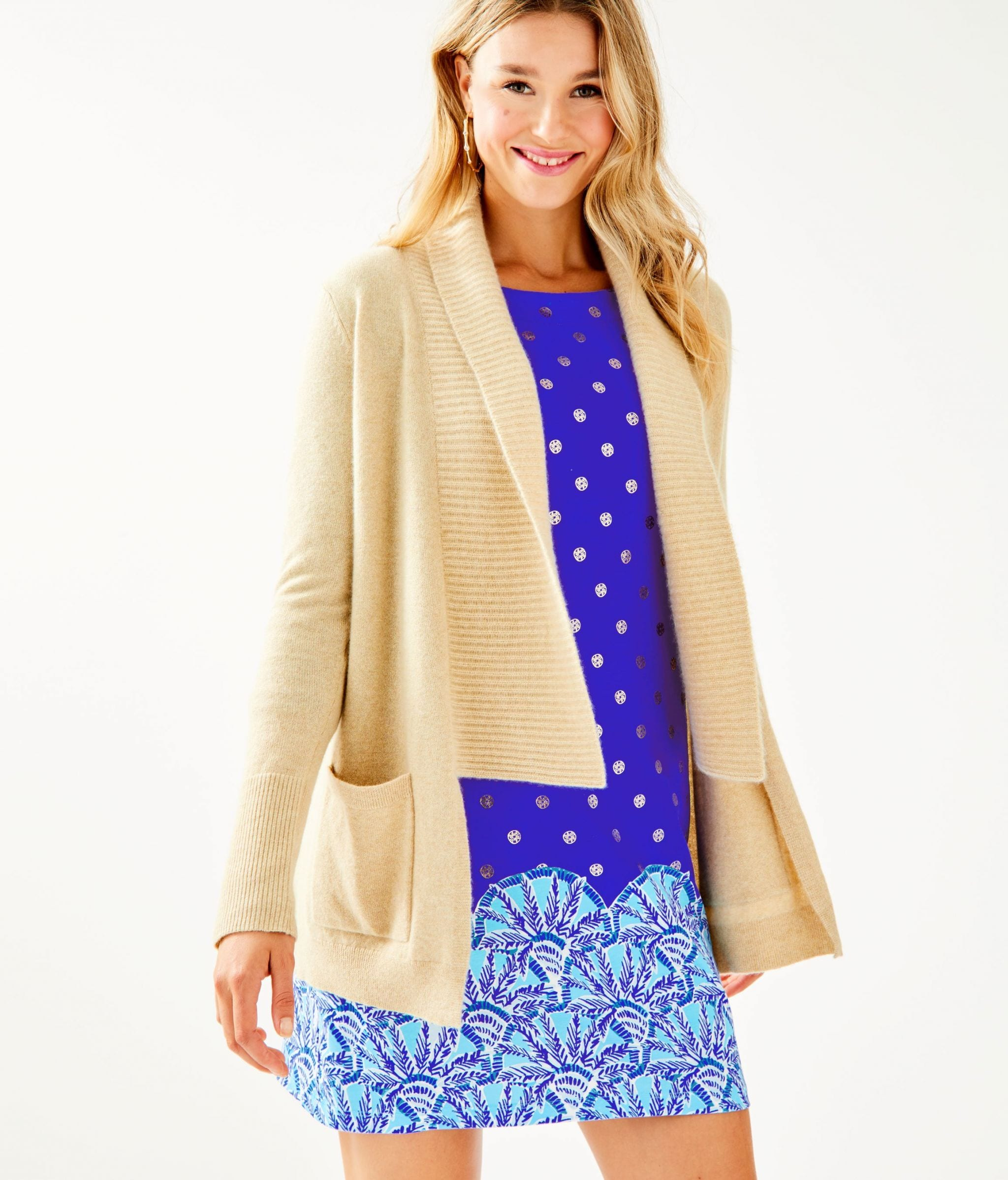 Norwood Cashmere Cardigan, Originally $278, $99