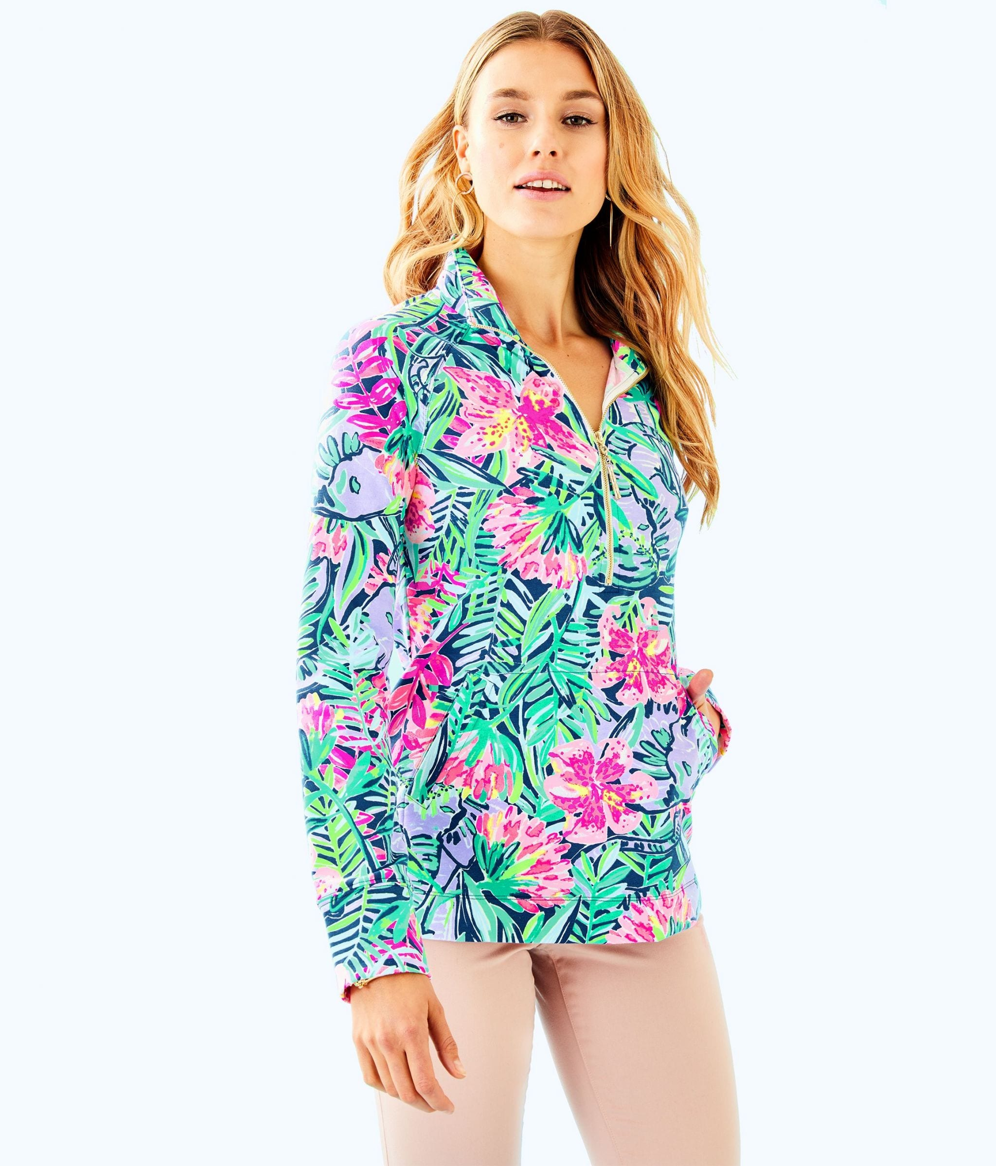 UPF 50+ Skipper Printed Popover, Originally $98, APS $59