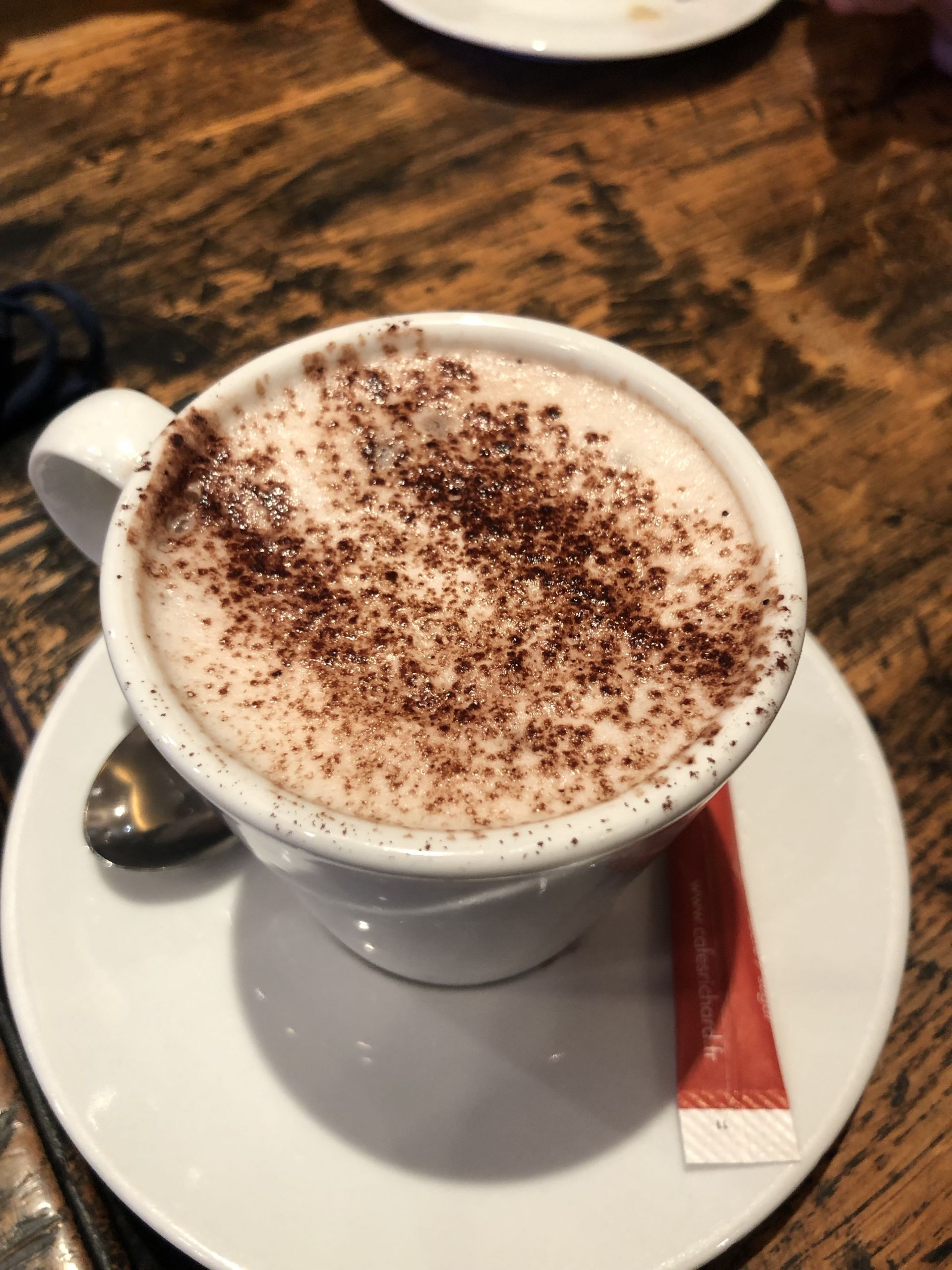 coffee at a parisian cafe