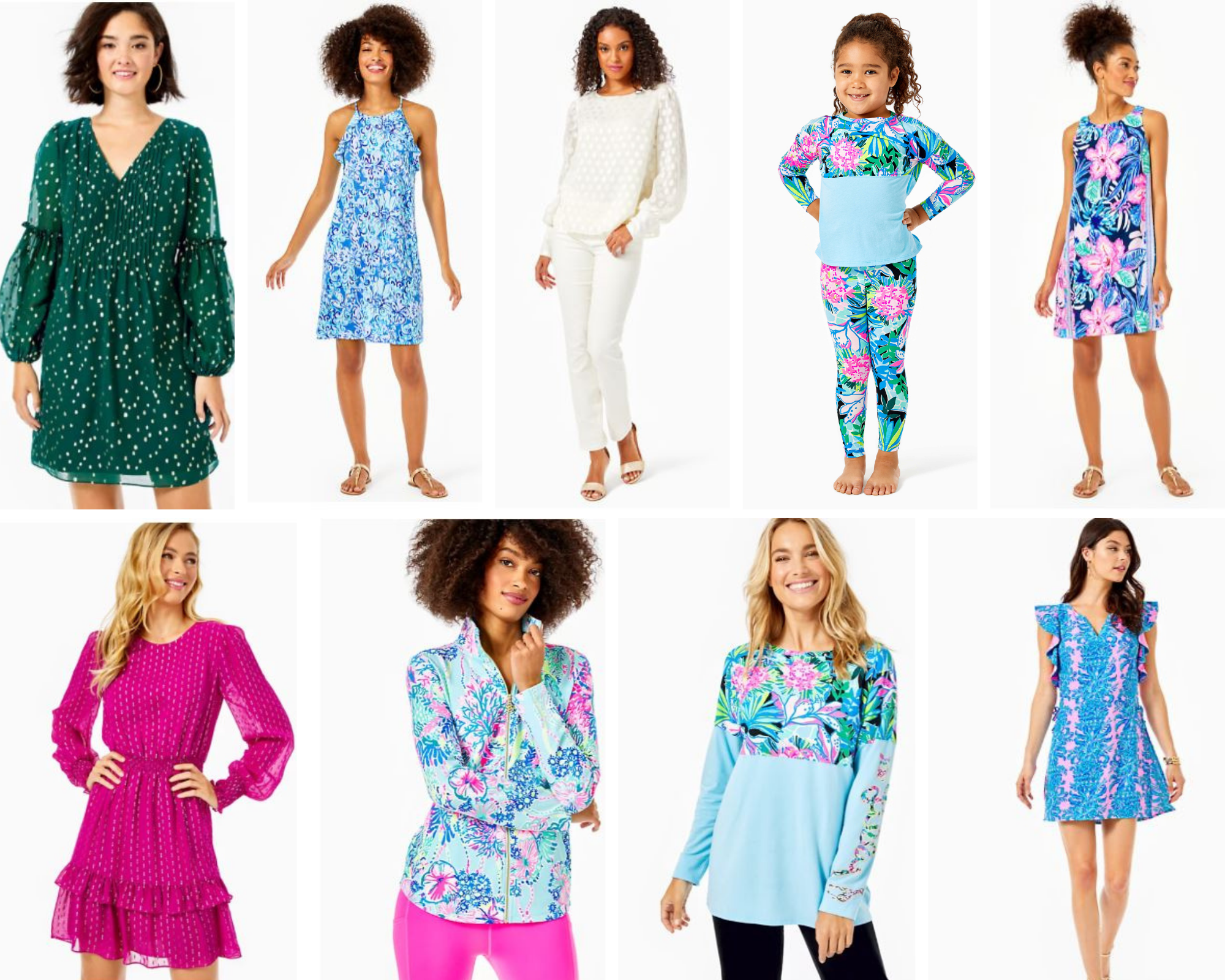 Lilly Pulitzer women and kids