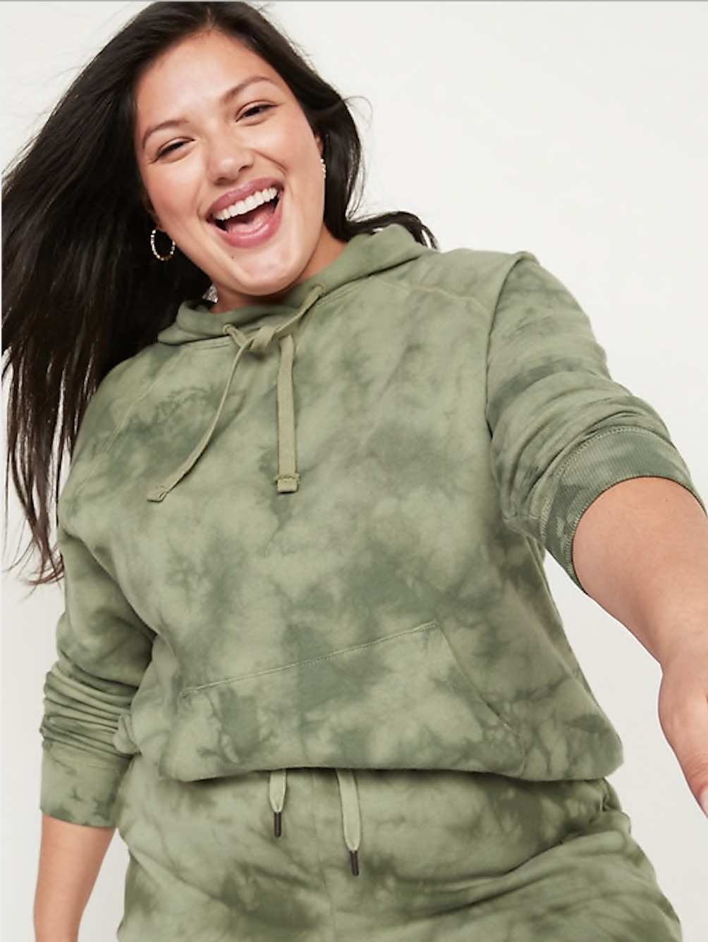 Old Navy Specially Dyed Plus-Size Pullover Hoodie