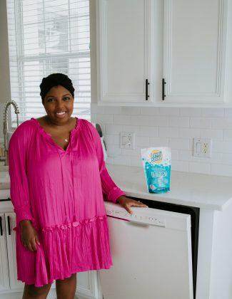 blogger ayana lage reviews lemi shine dishwashing detergent pods